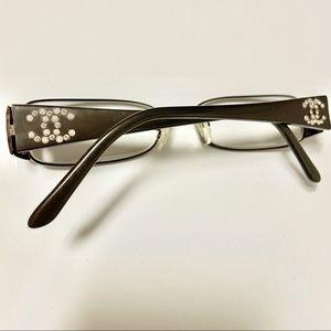 Authentic Chanel Pearl Chrystal Eyeglasses